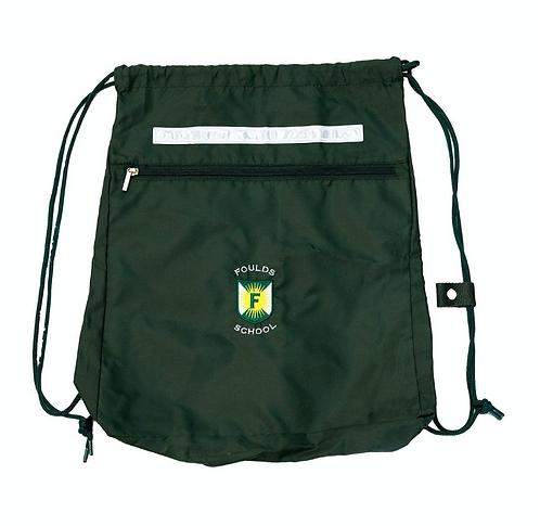 Foulds Drawstring PE Bag