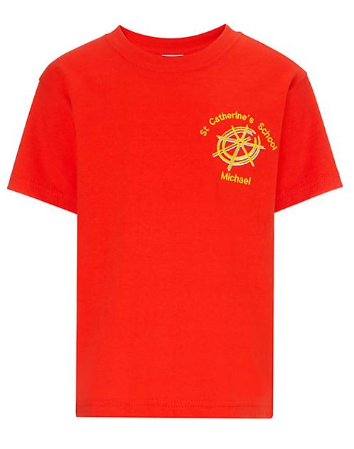 St Catherine PE Teeshirt (4 colours)