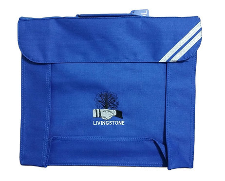 Livingstone School Book bag with Logo