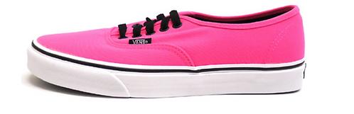 VANS Neon Pink Shoe