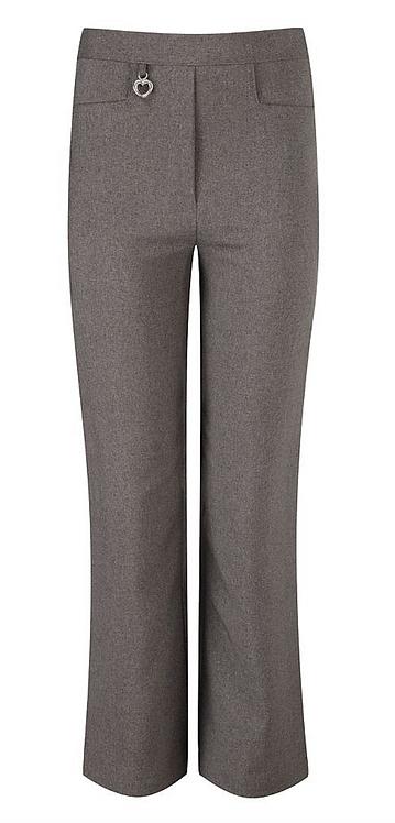 Junior Girls  Heart Zip Trousers