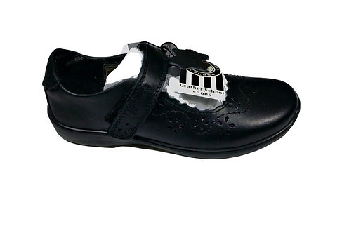 BMS Scallop Throat Leather Shoe