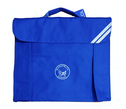 Monkfrith School Book bag with Logo