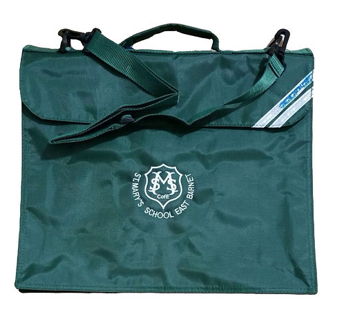 St Mary's Book Bag with Shoulder Strap