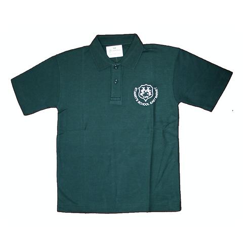 St Mary's Polo Shirt (green)