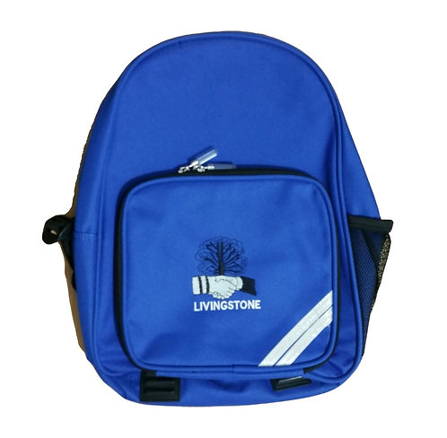 Livingstone School Backpack with Logo