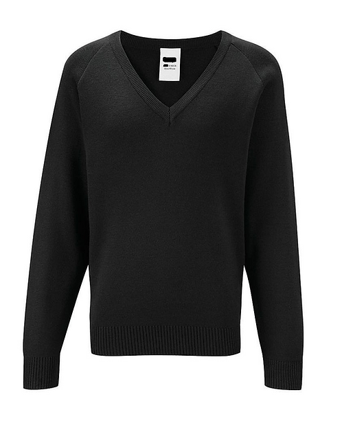 V Neck Acrylic Jumper