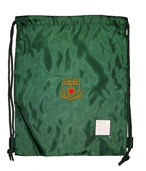 Sacred Heart Drawstring PE Bag