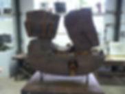 sculpture de Jean Amado : le porte-bois