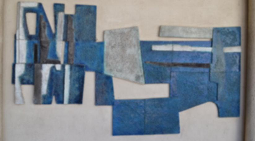 panneau émaillés de Jean Amado sculpteur