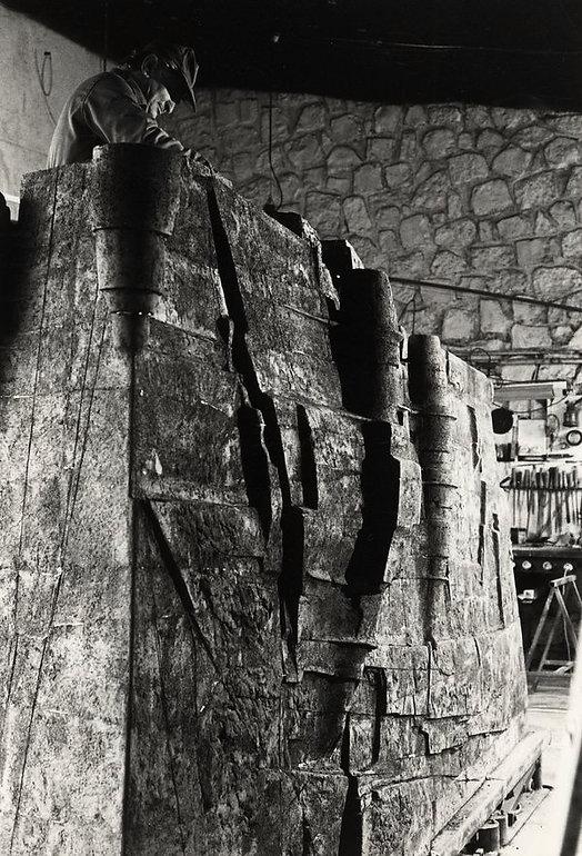 L'atelier de Jean Amado sculpteur