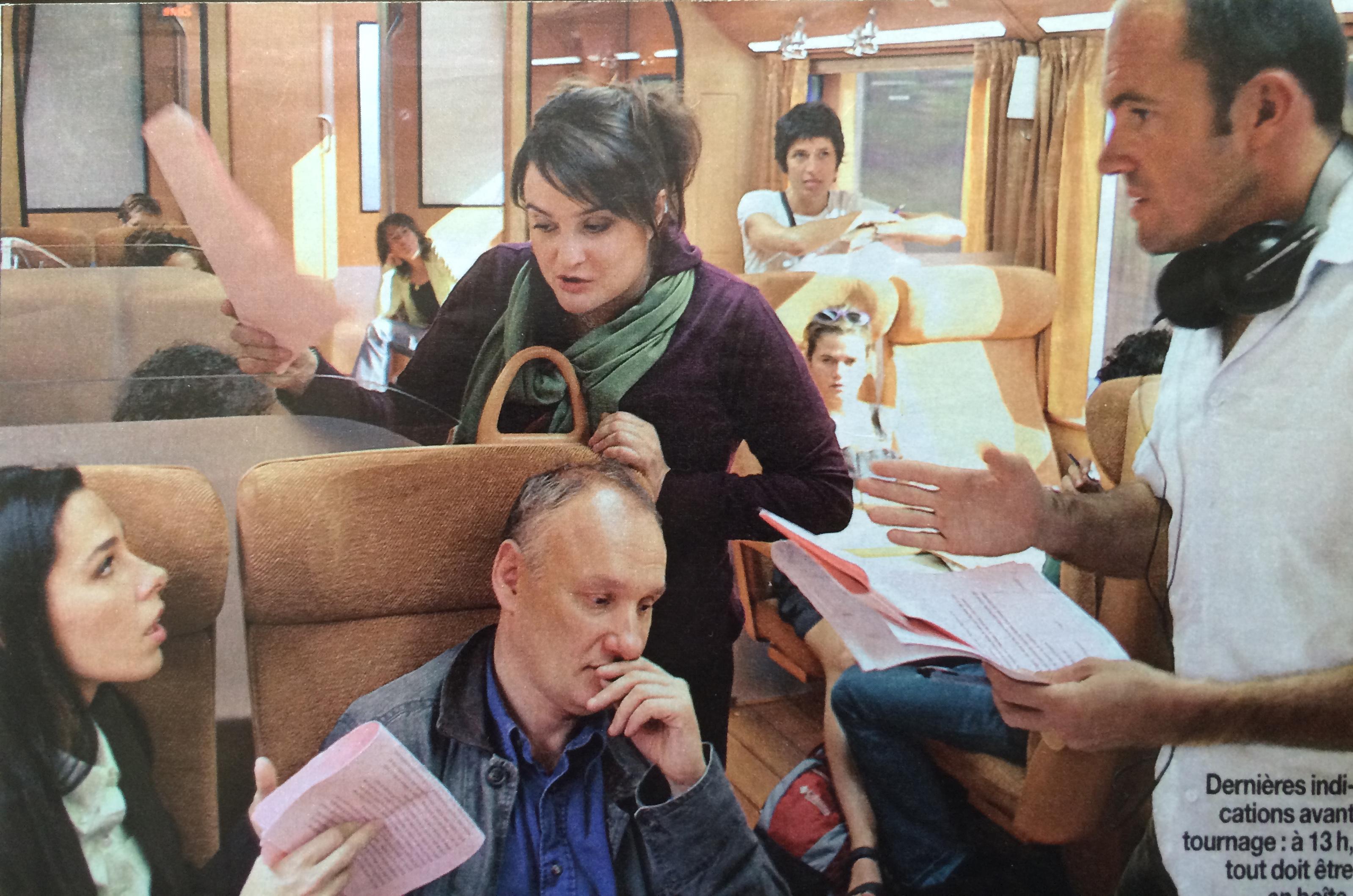 Le Train, Canal +, 2005