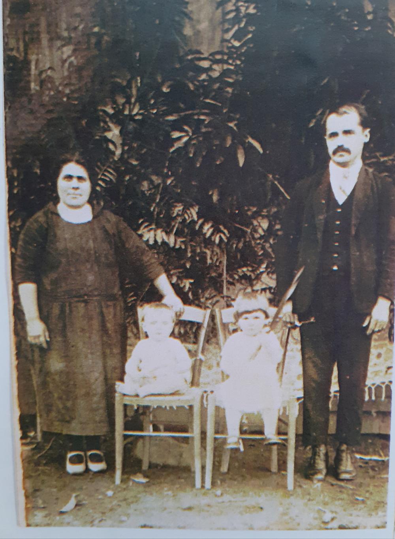 Família italiana no Rio Grande do Sul