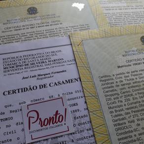 Pesquisa de documentos no Brasil