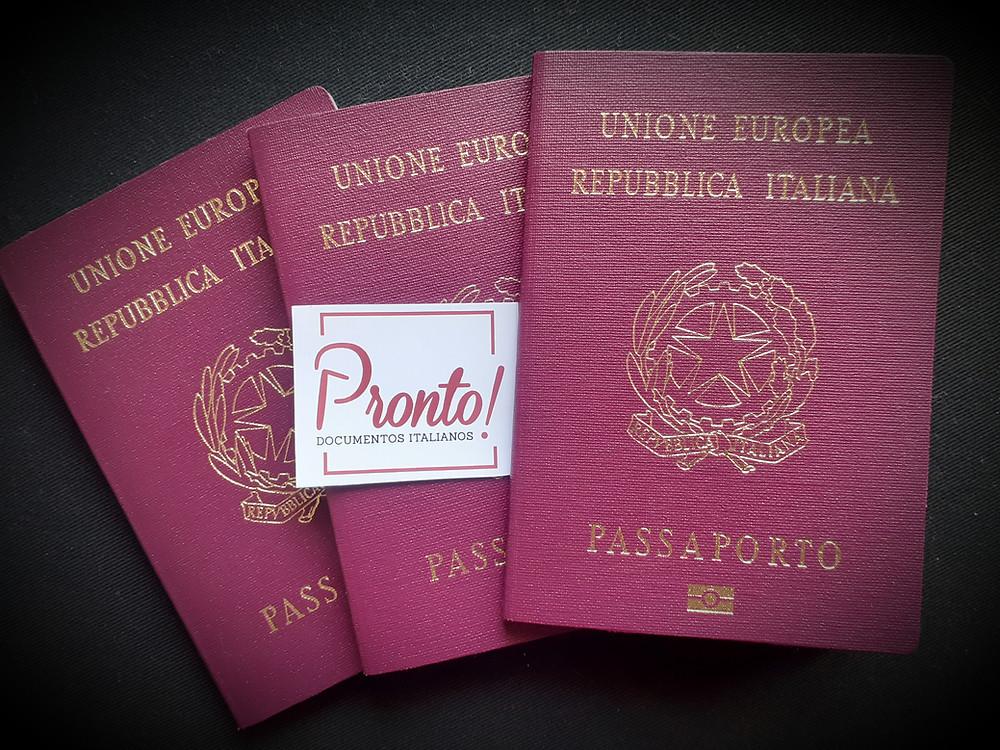 Passaporto italiano, passaporte italiano