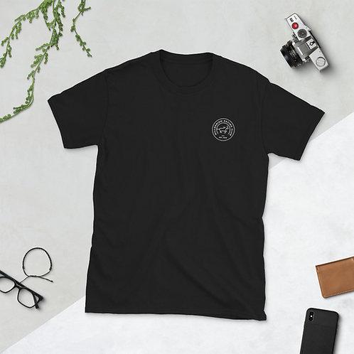 White Logo Basic T-Shirt