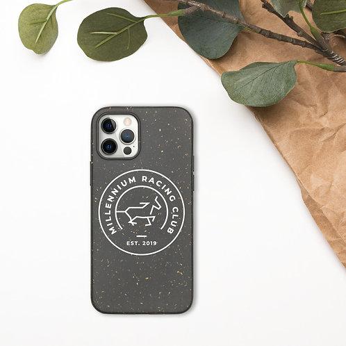 Biodegradable phone case White MRC Logo