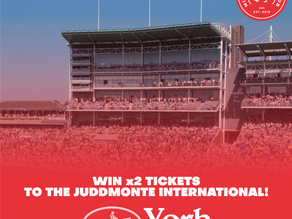 Win x2 tickets to the Juddmonte International at York!