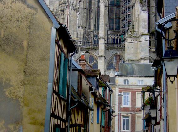 Derrière la cathédrale, Beauvais