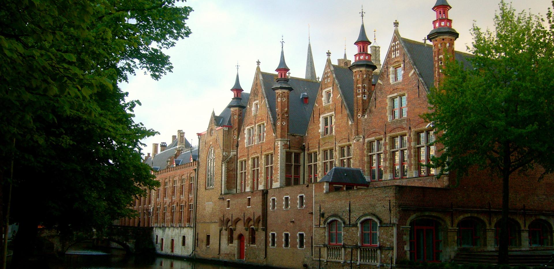 Bruges, le soir