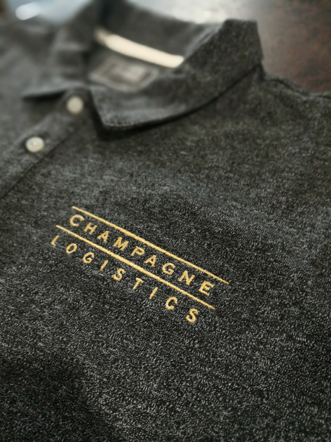 We self preform custom embroidery in house.