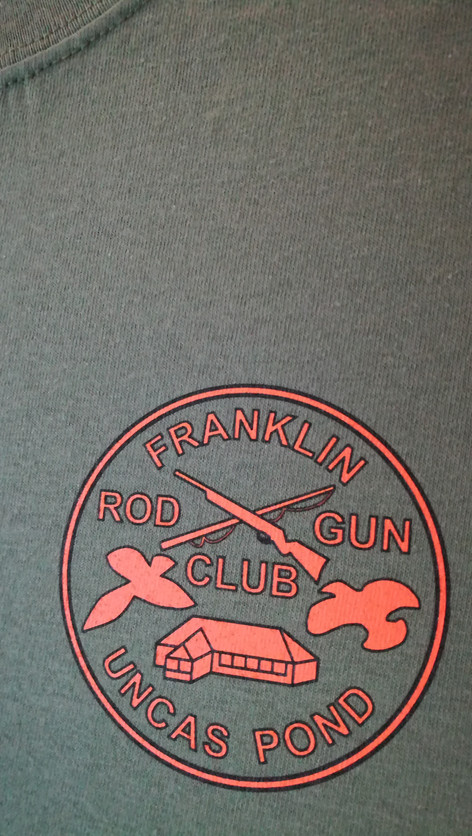 These prints were an image redraw, and two color spot printing from my friends at Franklin Rod and Gun Club.