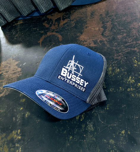 These embroidered hats were a  graphic re-design of an image provided by the client.