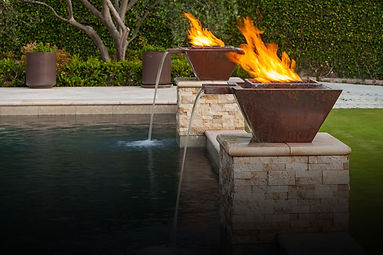 Top Fires fire/water bowls