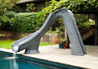 typhoon pool slide