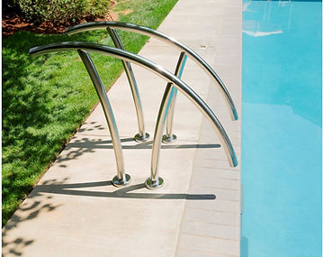 pool handrails