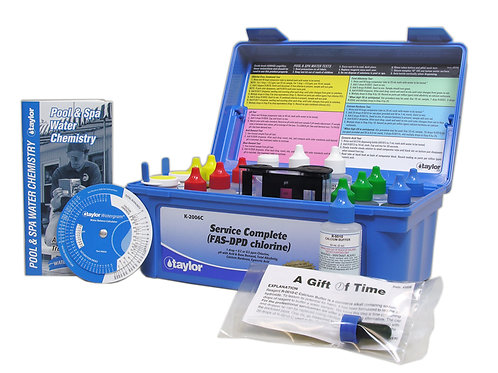 Taylor FAS-DPD Complete Test Kit