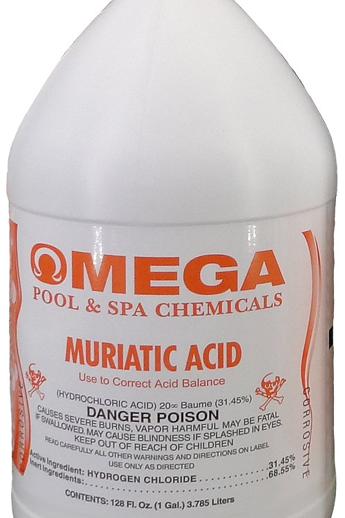 Muriatic Acid (LOCAL DELIVERY ONLY)