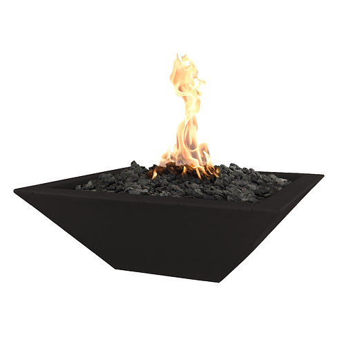 tapered fire pit steel