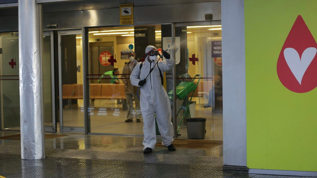 Desinfecta los Hospitales