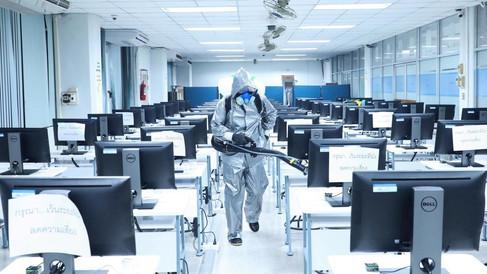 Desinfecta las Oficinas