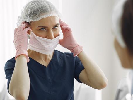 El uso del tapabocas en los tratamientos de estética
