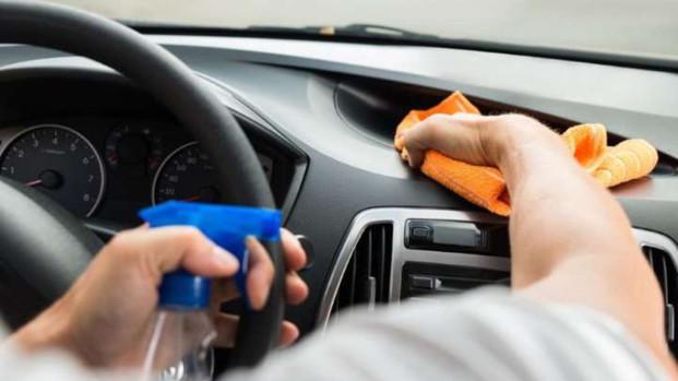 Desinfecta el Automovil