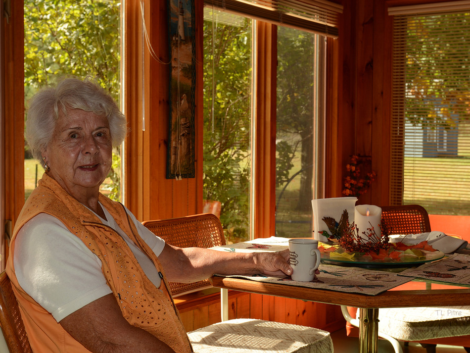 Mom on her 83rd Birthday