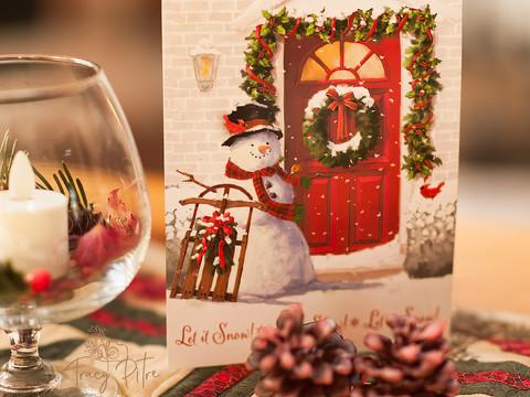 I love Christmas cards!