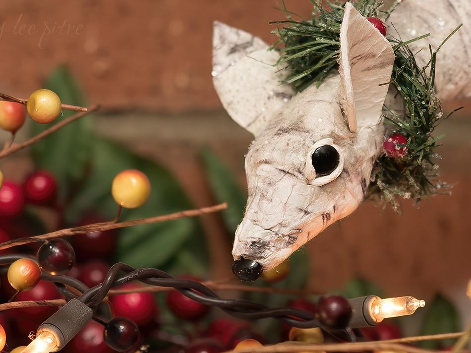 Birch Bark Deer