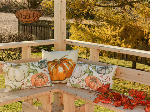 Pillows from Pottery Barn