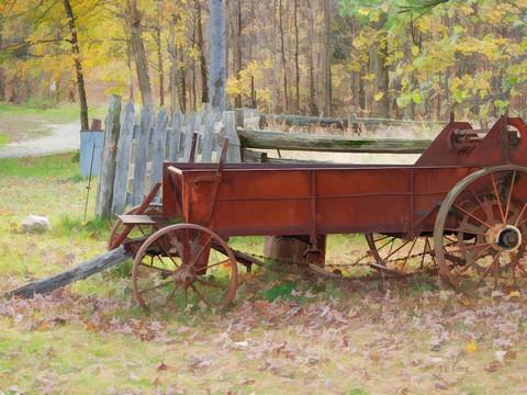 Rustic Wagon