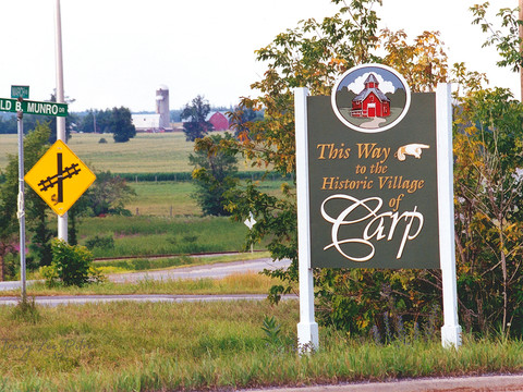 Welcome to Carp, Ontario