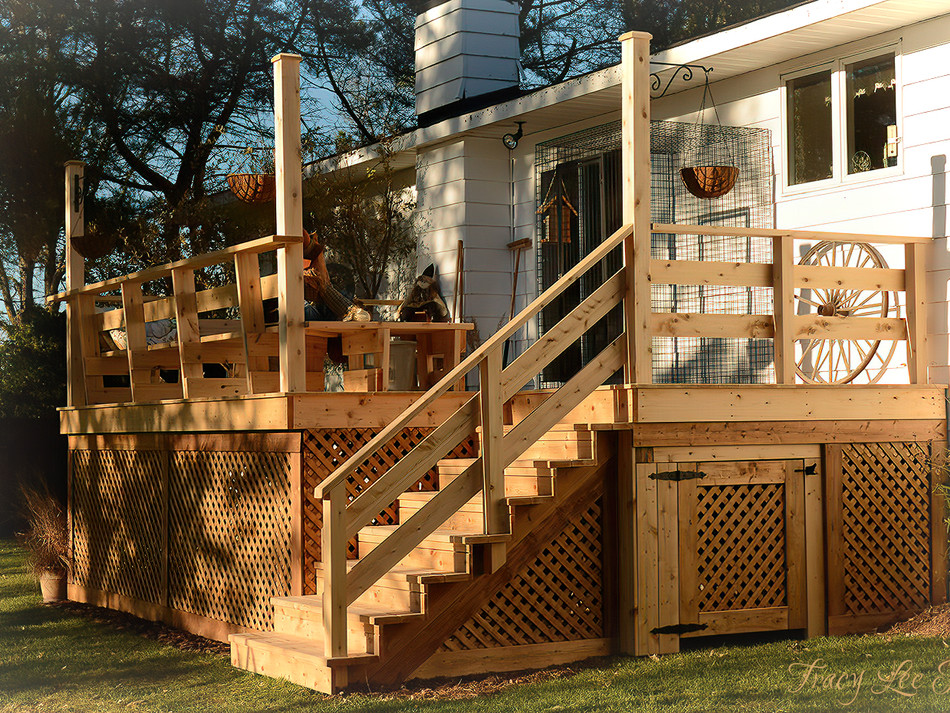 Our New Deck