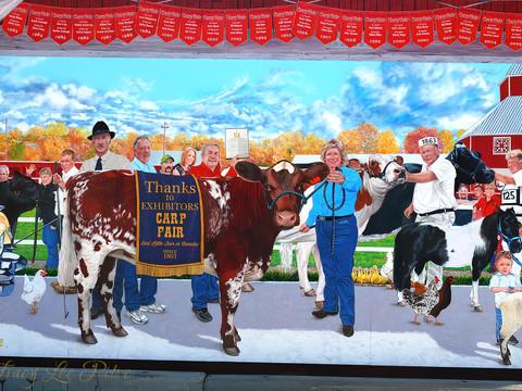 Carp Fair Wall Mural