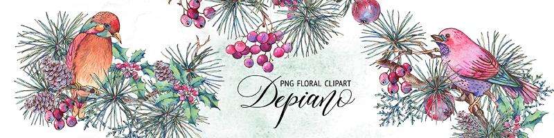 Depiano Clipart