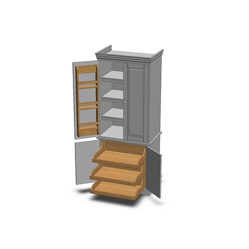 Fernwood Painted Storage Larder