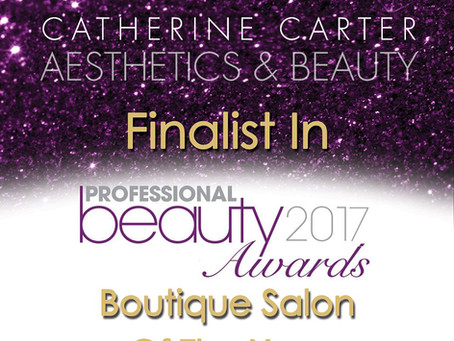 Winner and Finalist at the Professional Beauty Industry Awards 2017