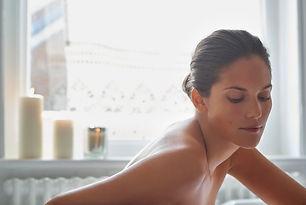 Bathing - Brunette Model - Torso Body in