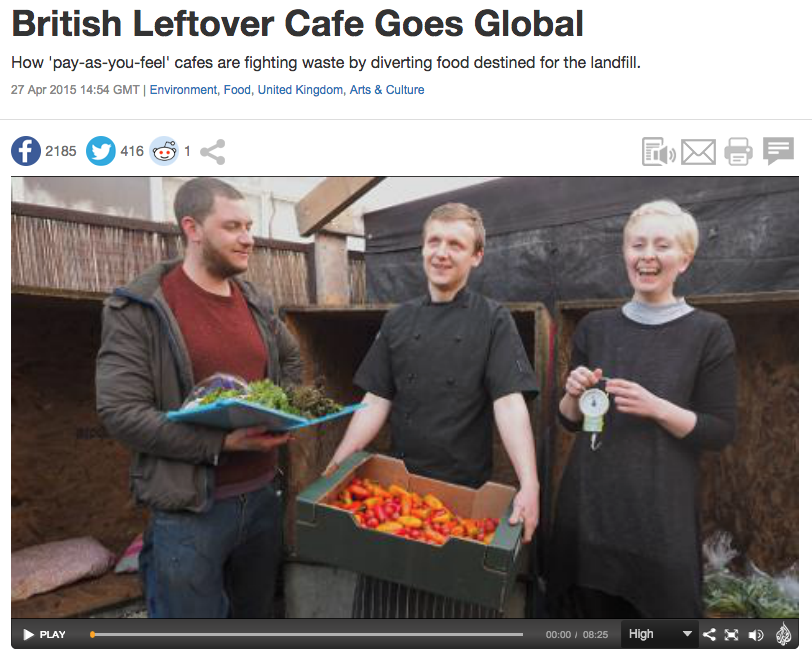 British Leftover Cafe